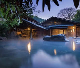 週末に行ける!露天風呂をめぐる黒川温泉旅