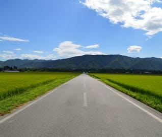 爽やかな夏の風を切って走る、安曇野サイクリング旅